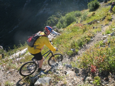 Mountain Biker Thomas Mueller