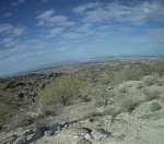 Phoenix in the distance